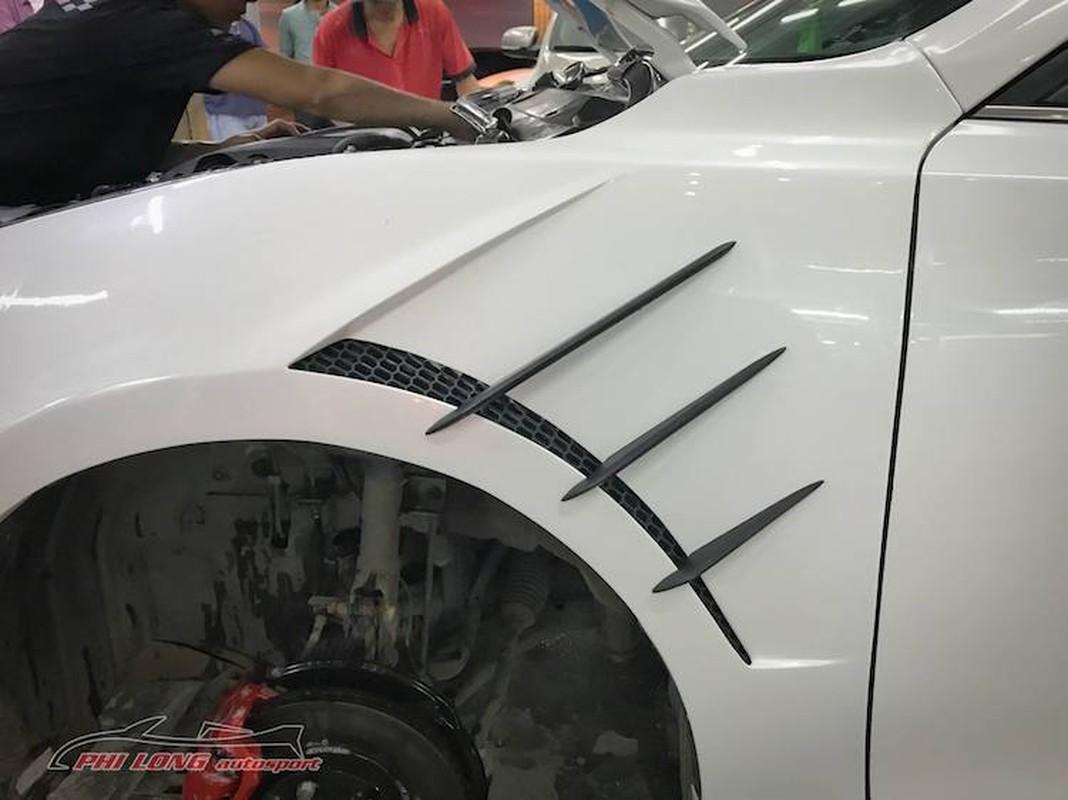 Tho Sai Gon bien hinh Mazda 3 thanh sieu xe Lexus-Hinh-4