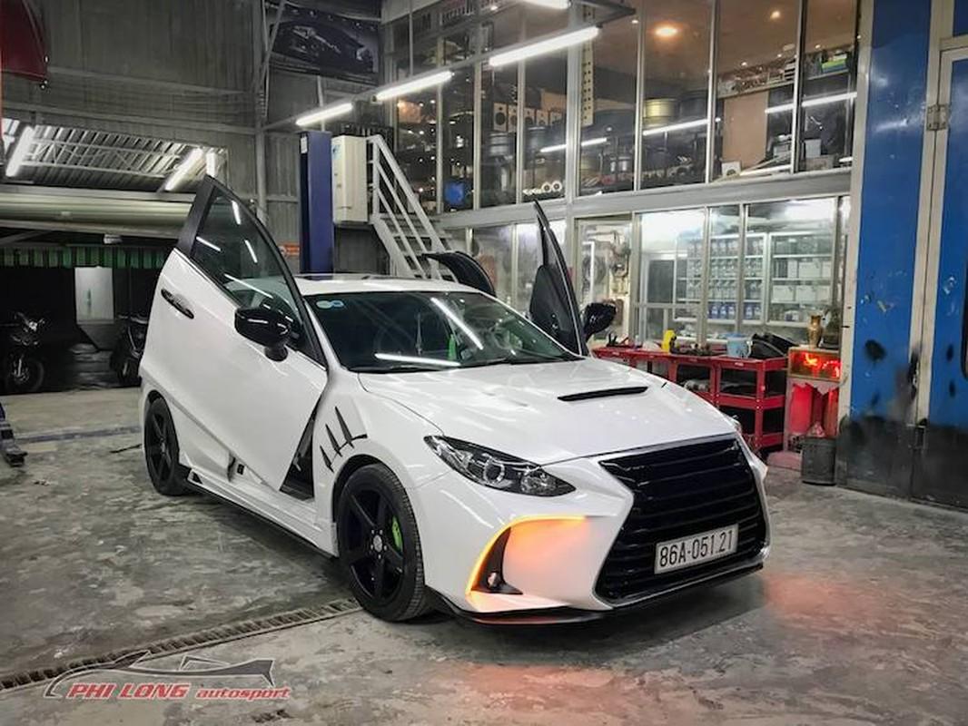 Tho Sai Gon bien hinh Mazda 3 thanh sieu xe Lexus-Hinh-5