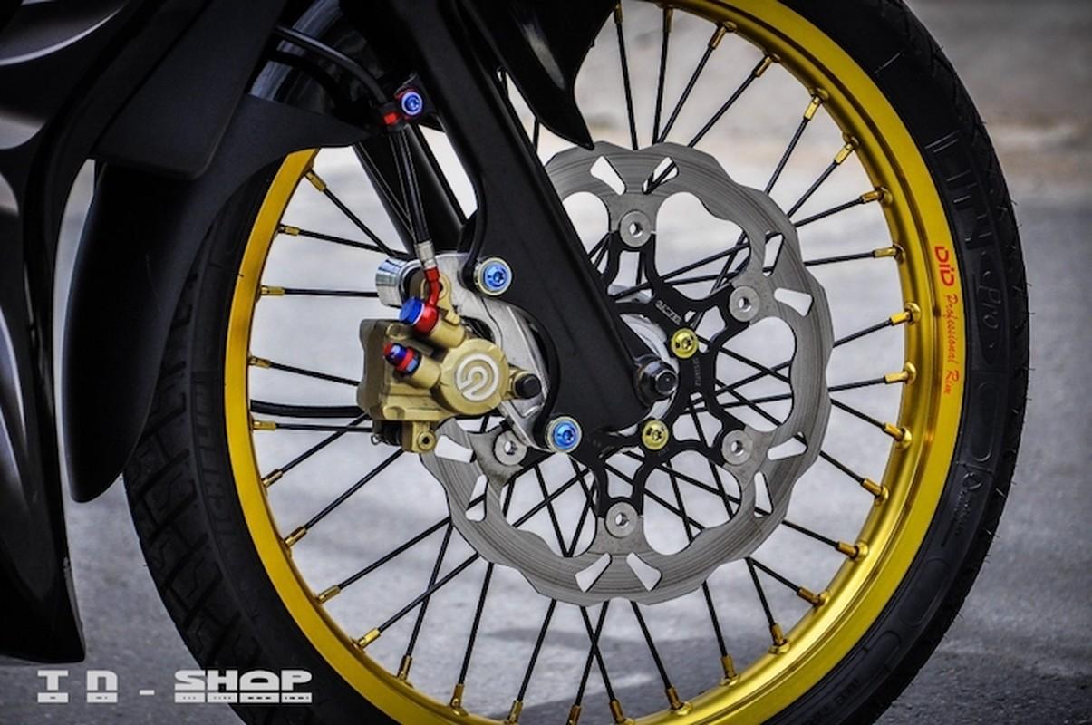 """Yamaha Exciter 135 """"do kieng"""", sieu chat tai Sai Gon-Hinh-3"""
