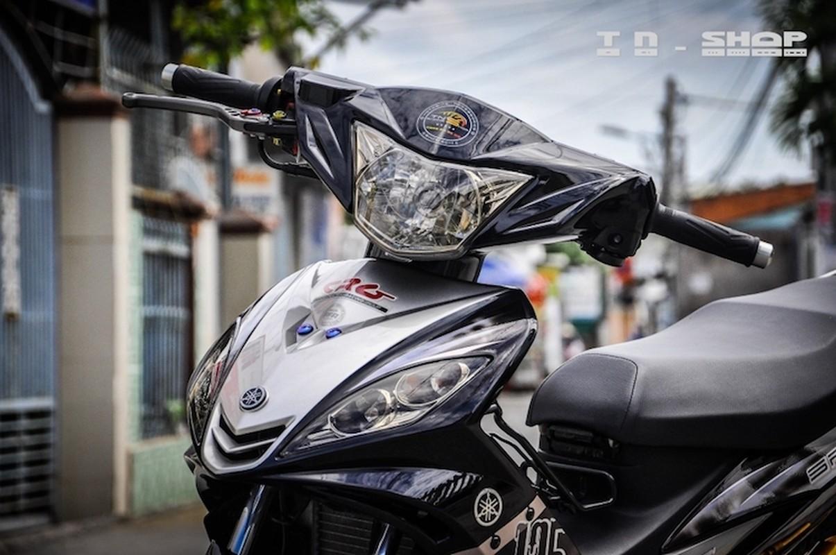 """Yamaha Exciter 135 """"do kieng"""", sieu chat tai Sai Gon-Hinh-4"""