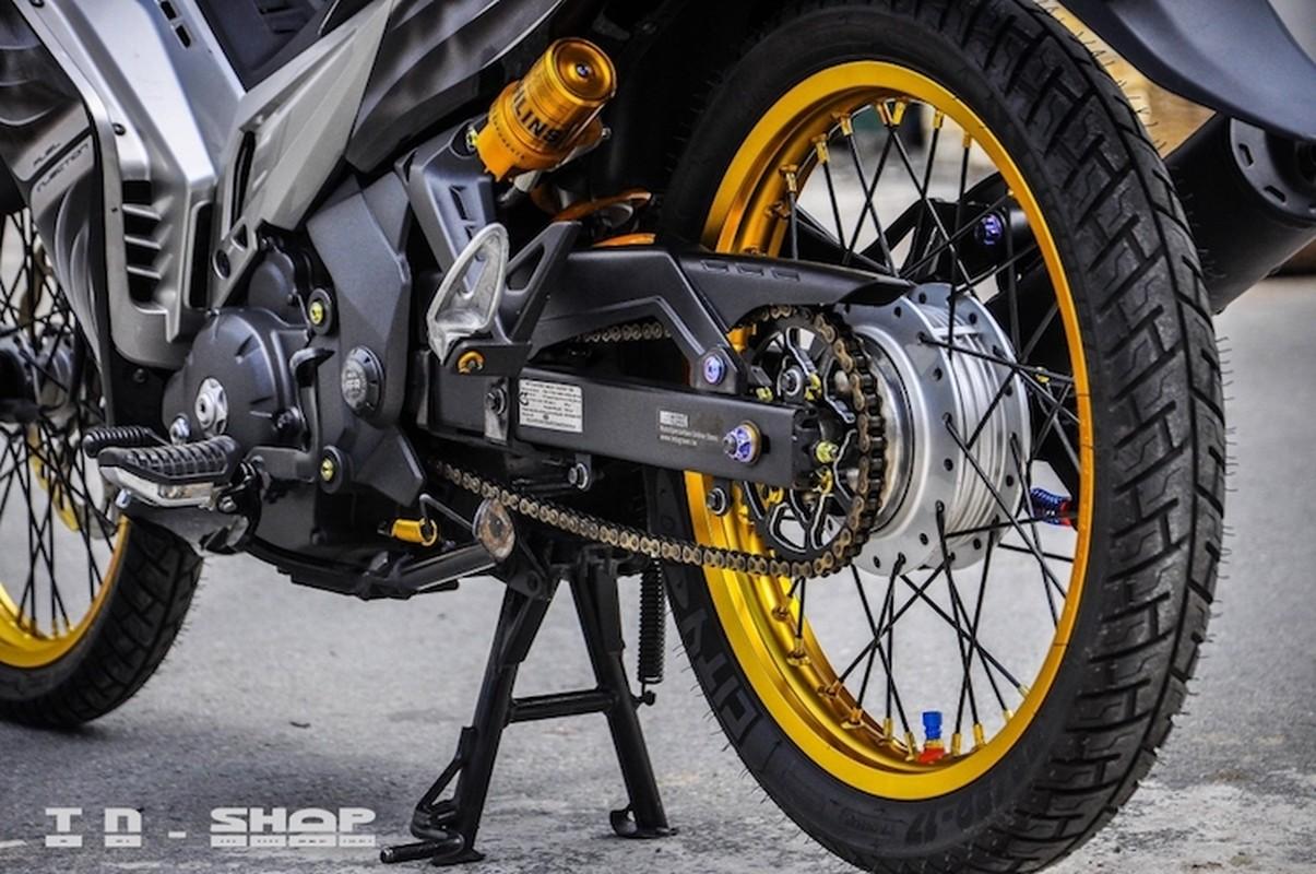"""Yamaha Exciter 135 """"do kieng"""", sieu chat tai Sai Gon-Hinh-7"""
