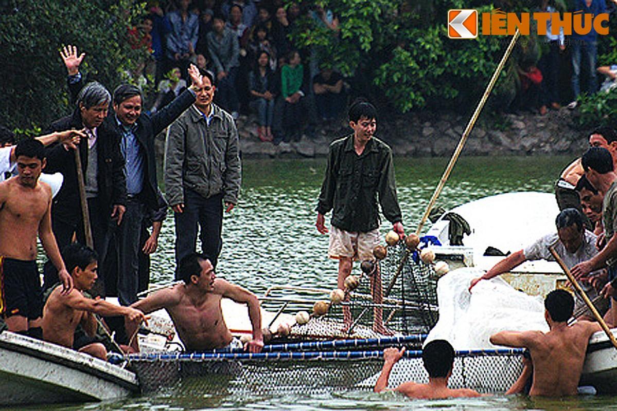 Anh doc: Bo doi dac cong bat cu Rua ho Guom 2011-Hinh-13
