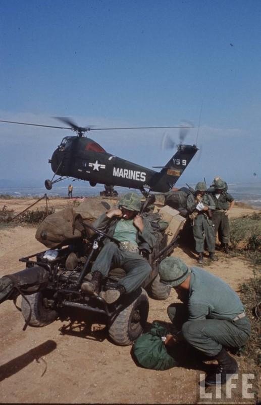 Anh cuc doc linh My dau tien toi Viet Nam tham chien (2)-Hinh-7