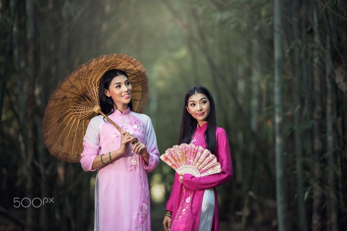 Dep me man thieu nu ao dai Viet trong anh nguoi Thai-Hinh-11