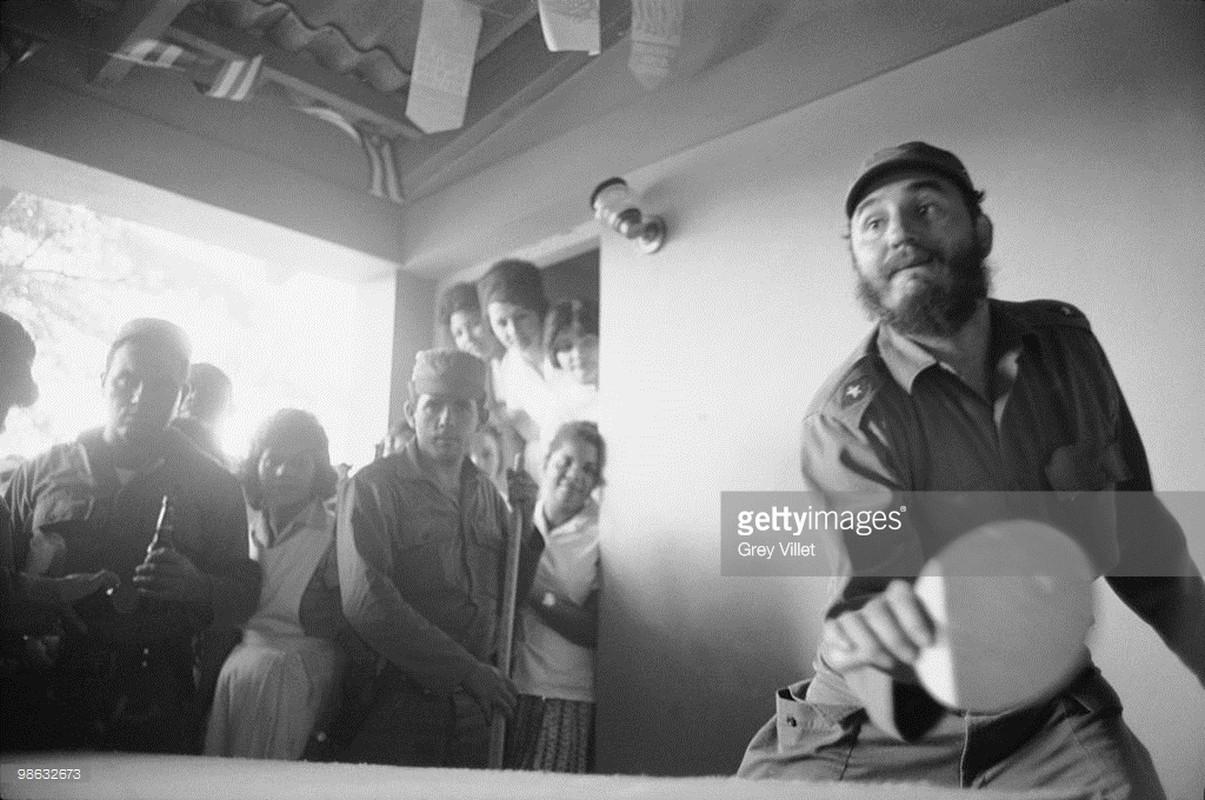 Anh lich su it nguoi biet ve lanh tu Fidel Castro (2)