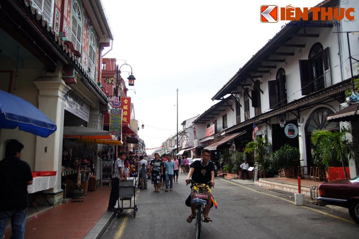 Trai nghiem pho hang rong co kinh noi tieng cua Malaysia
