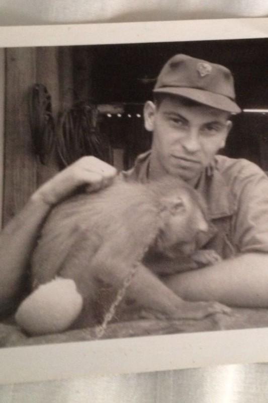 Anh doc: Linh My nuoi khi nhu thu cung thoi chien tranh Viet Nam-Hinh-4