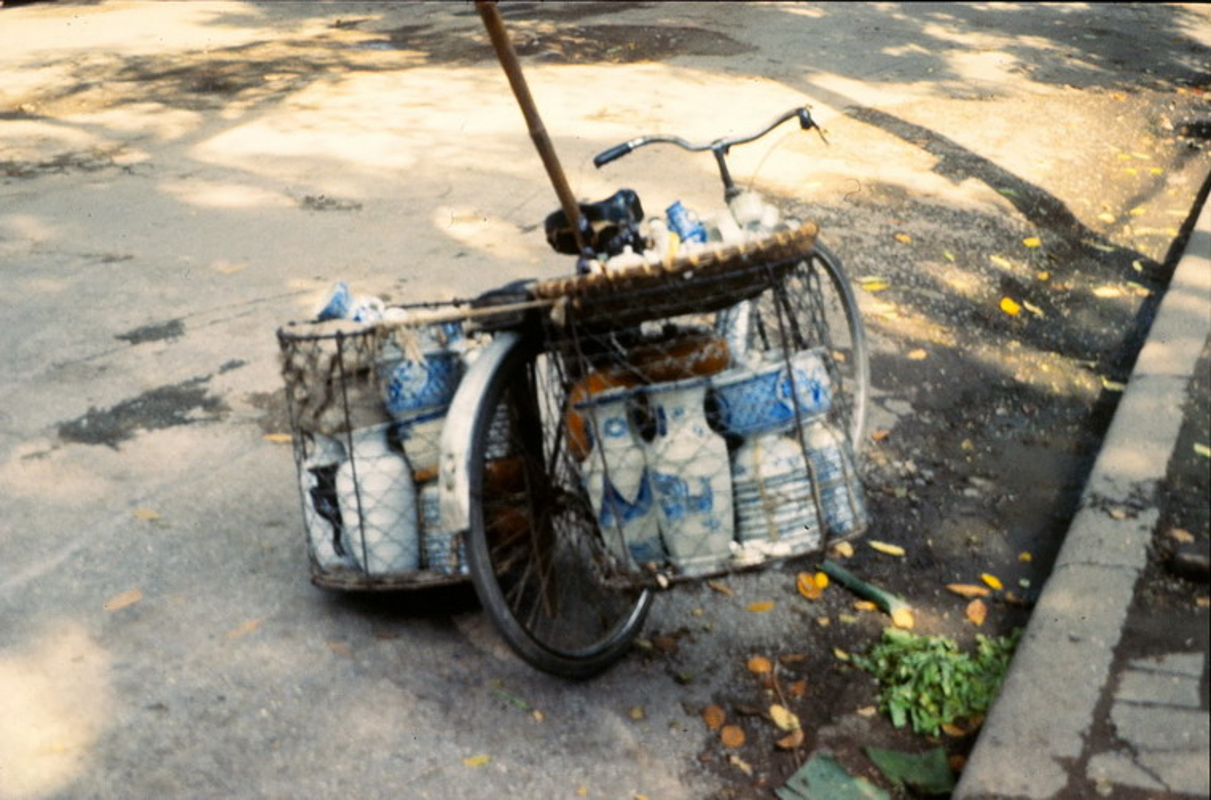 Anh cuc doc ve xe dap o Ha Noi nam 1990-Hinh-7