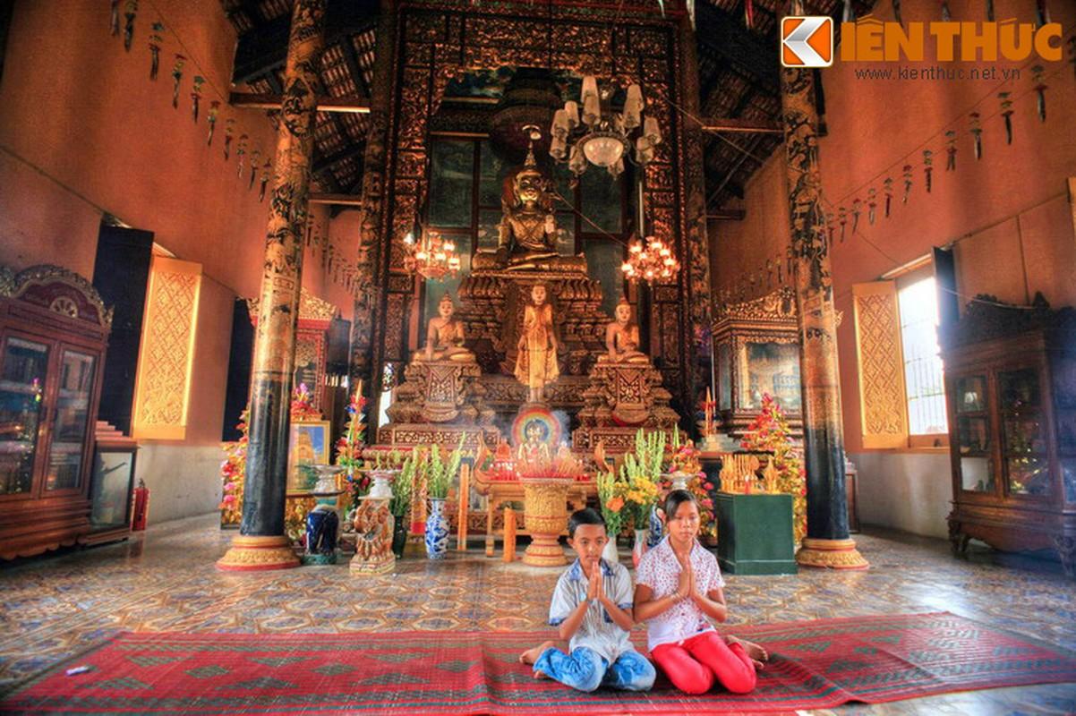 Dieu dac biet o ngoi chua Khmer dac sac nhat Nam Bo-Hinh-9