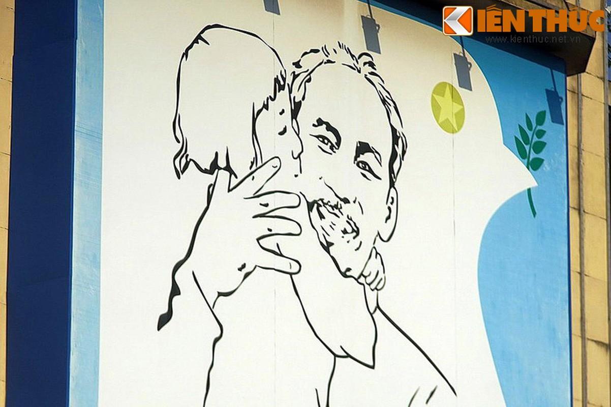 Bi mat sau buc tranh Bac Ho o goc pho dep nhat Ha Noi-Hinh-8