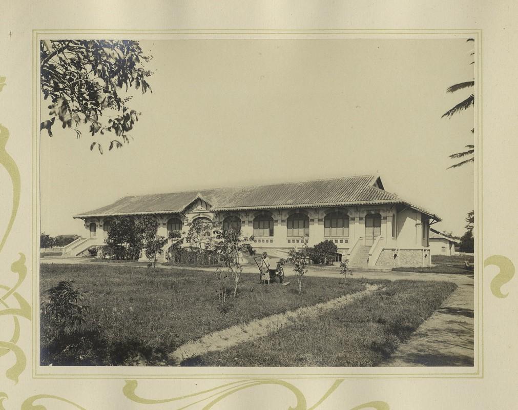 Tuyet dep kien truc Cho Lon 1909 trong album anh cua F. Drouhet-Hinh-15