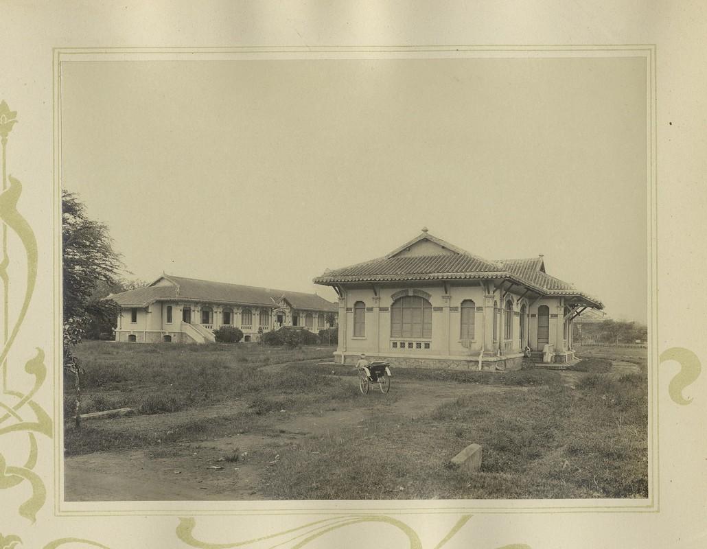 Tuyet dep kien truc Cho Lon 1909 trong album anh cua F. Drouhet-Hinh-16