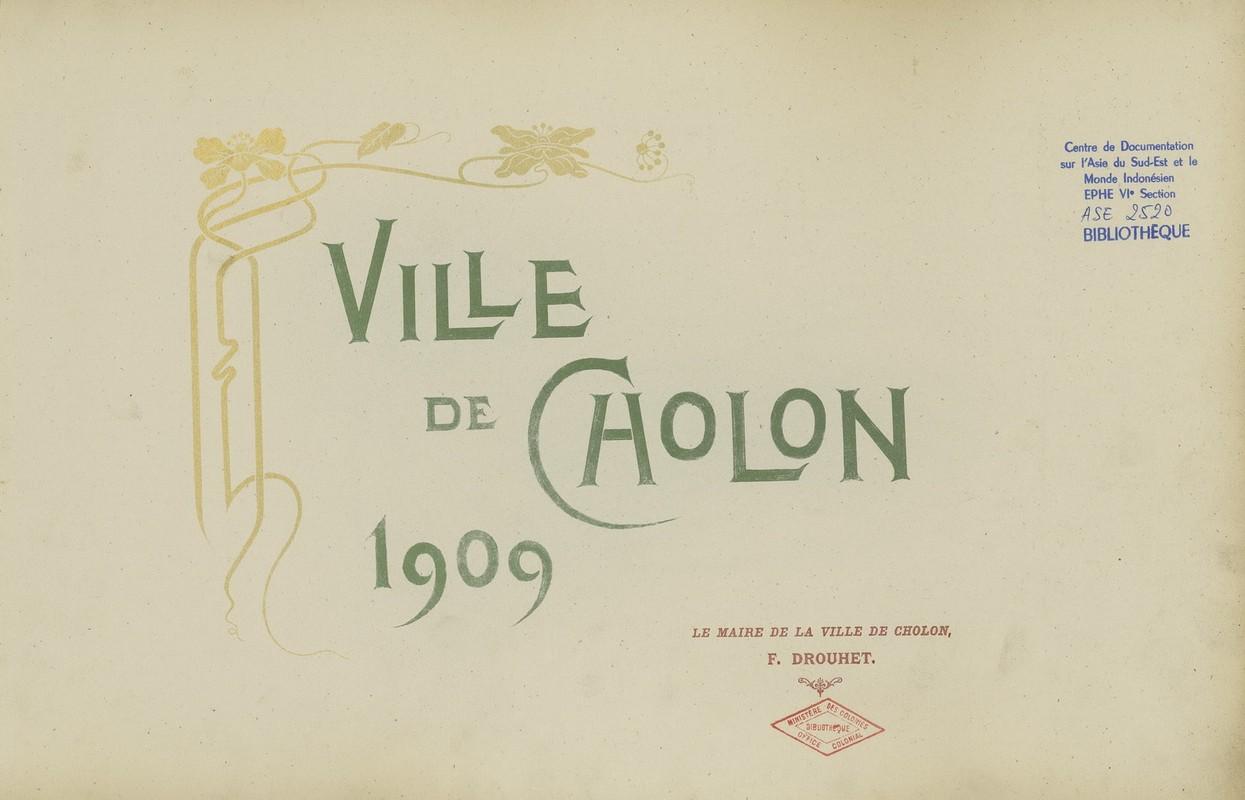 Tuyet dep kien truc Cho Lon 1909 trong album anh cua F. Drouhet-Hinh-17