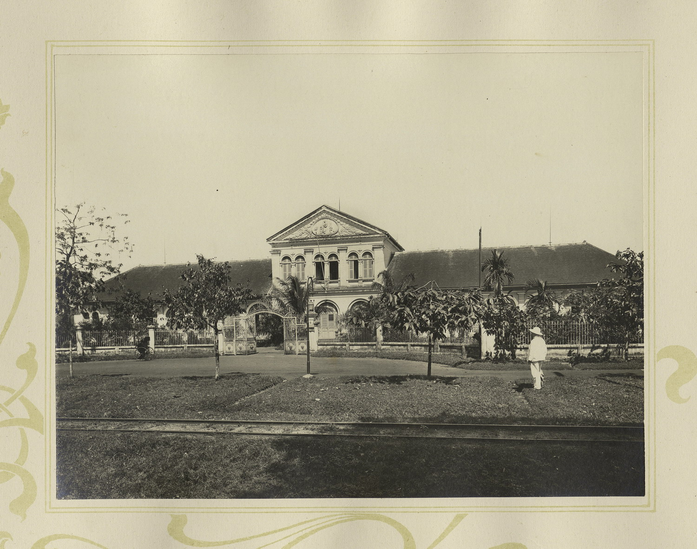 Tuyet dep kien truc Cho Lon 1909 trong album anh cua F. Drouhet-Hinh-3