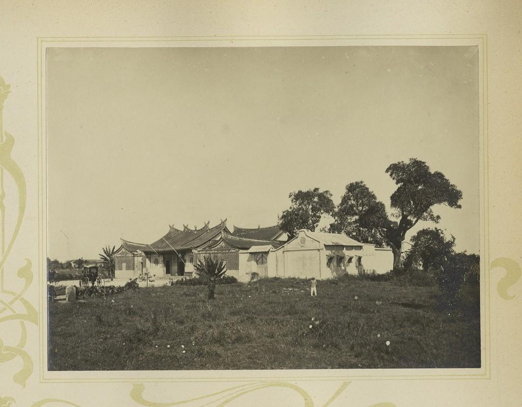 Tuyet dep kien truc Cho Lon 1909 trong album anh cua F. Drouhet-Hinh-6
