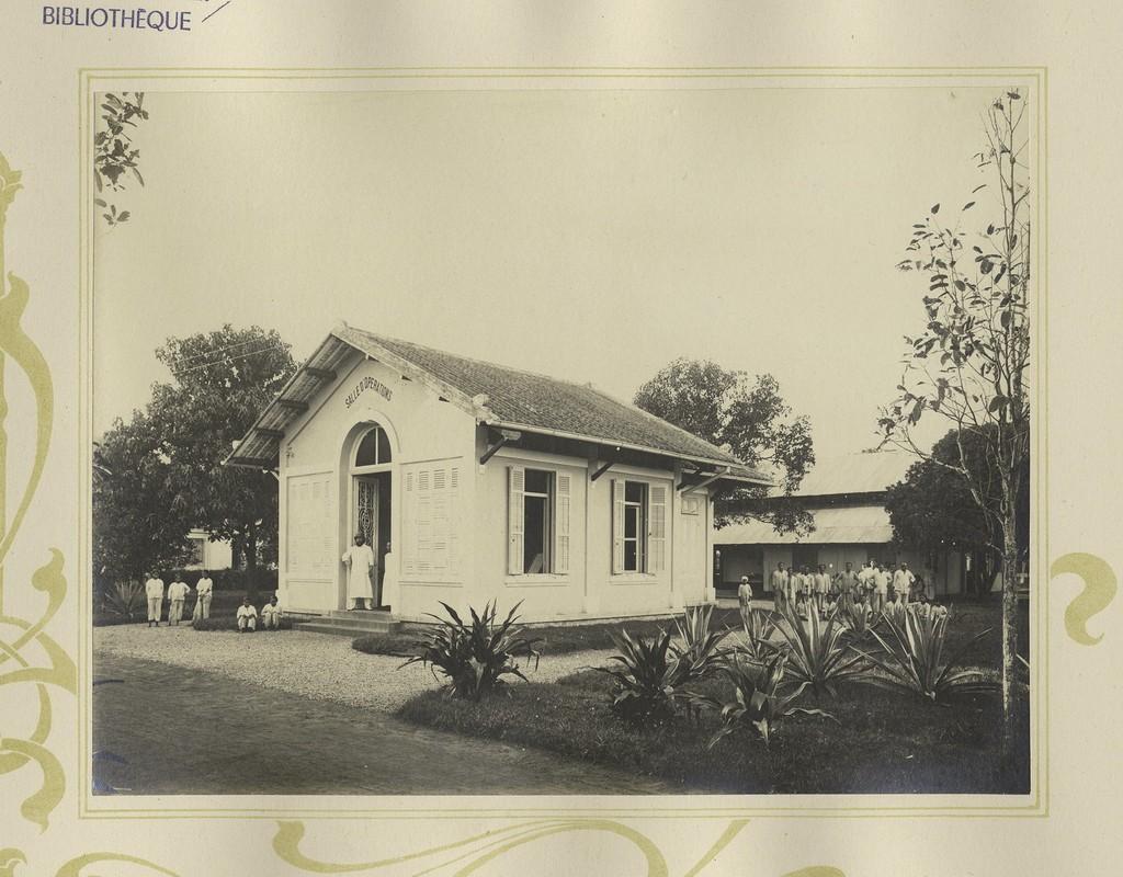 Tuyet dep kien truc Cho Lon 1909 trong album anh cua F. Drouhet-Hinh-7