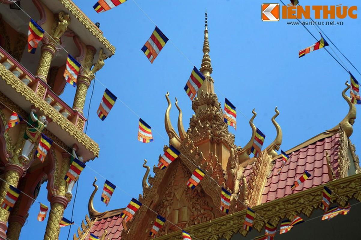 Kien truc doc la cua chua Khmer dep nhat thanh pho Can Tho-Hinh-2