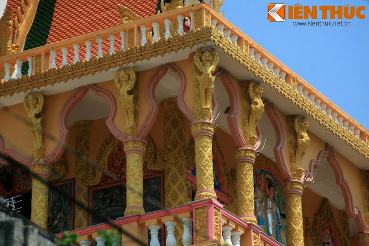 Kien truc doc la cua chua Khmer dep nhat thanh pho Can Tho-Hinh-4