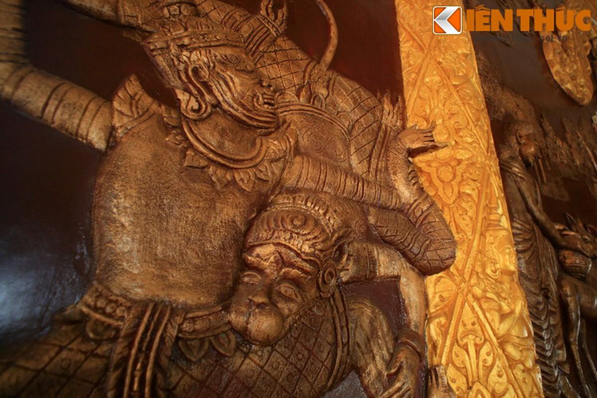 Kien truc doc la cua chua Khmer dep nhat thanh pho Can Tho-Hinh-9