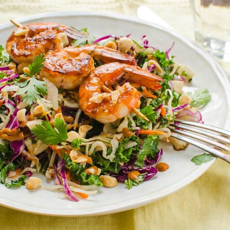 Vao bep voi mon salad tom nuong ngon mat ngon mieng-Hinh-8