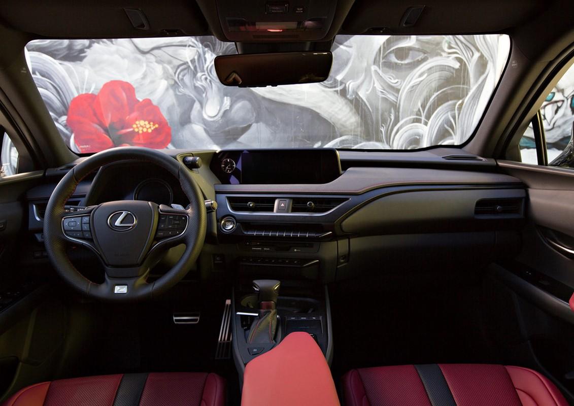 Lexus UX 2019 ra mat, doi dau BMX X2, Audi Q3-Hinh-5