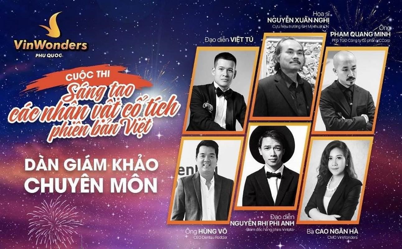 """VinWonders to chuc thi """"sang tao nhan vat co tich phien ban Viet""""-Hinh-9"""