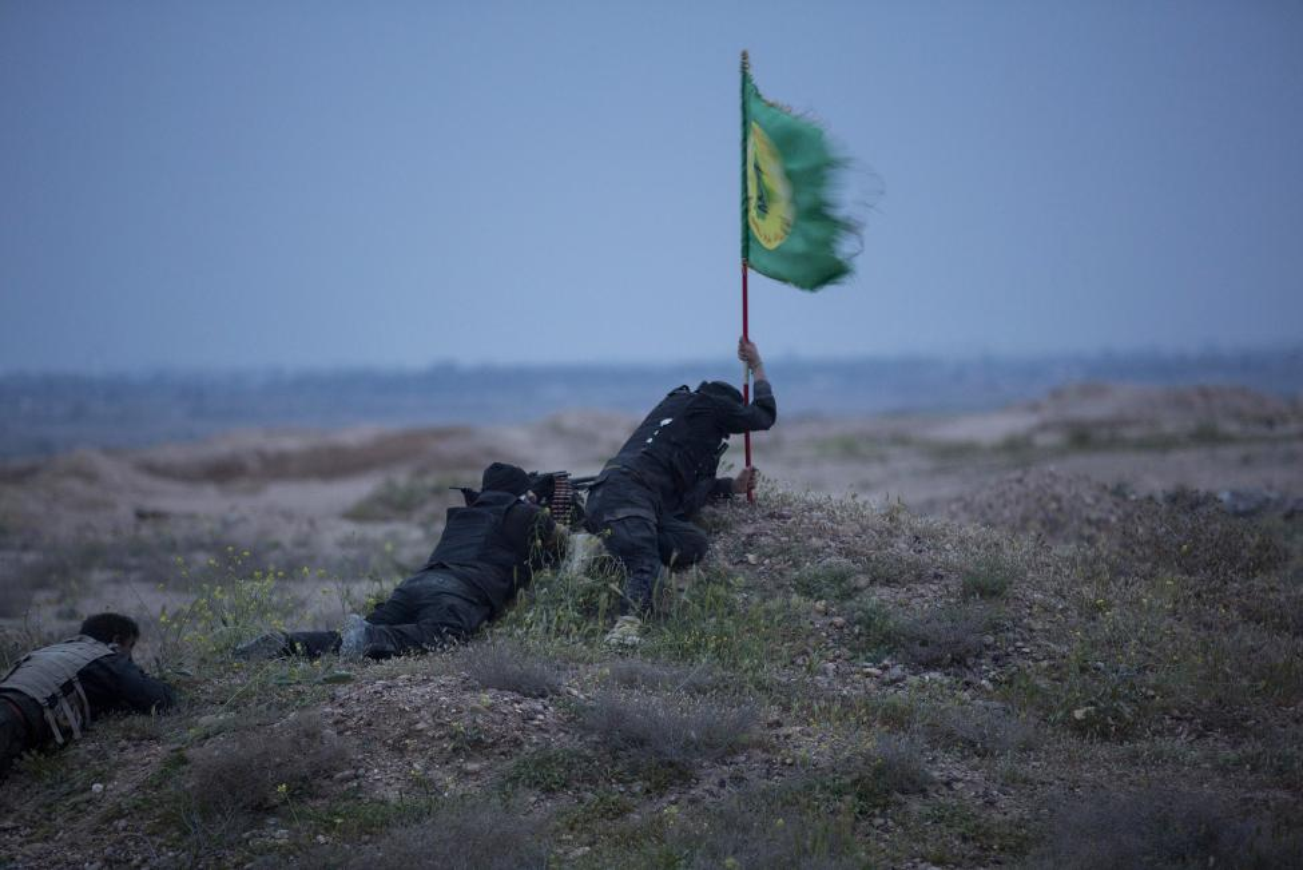Nghet tho cuoc dung do giua nguoi Shi'ite va IS o Tikrit