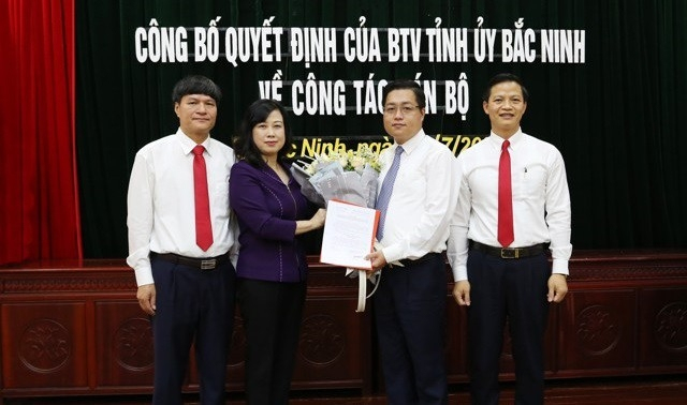 Con Bi thu tinh uy Bac Ninh duoc chi dinh lam Bi thu thanh uy
