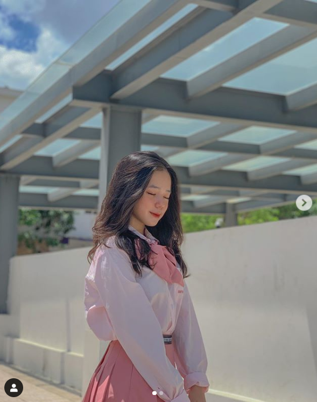 Moi 14 tuoi, hot girl Vung Tau dep khien dan chi phai nguong mo