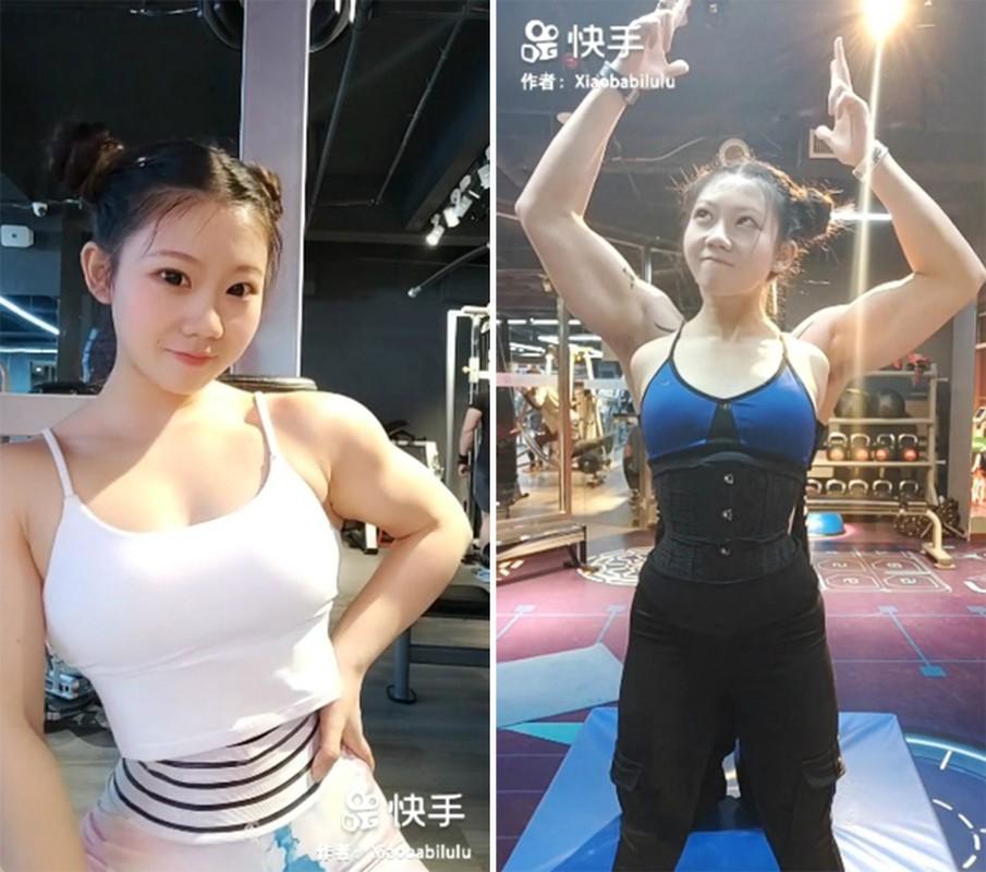 Mat hoc sinh than hinh luc si, hot girl xu Trung noi tieng MXH-Hinh-3