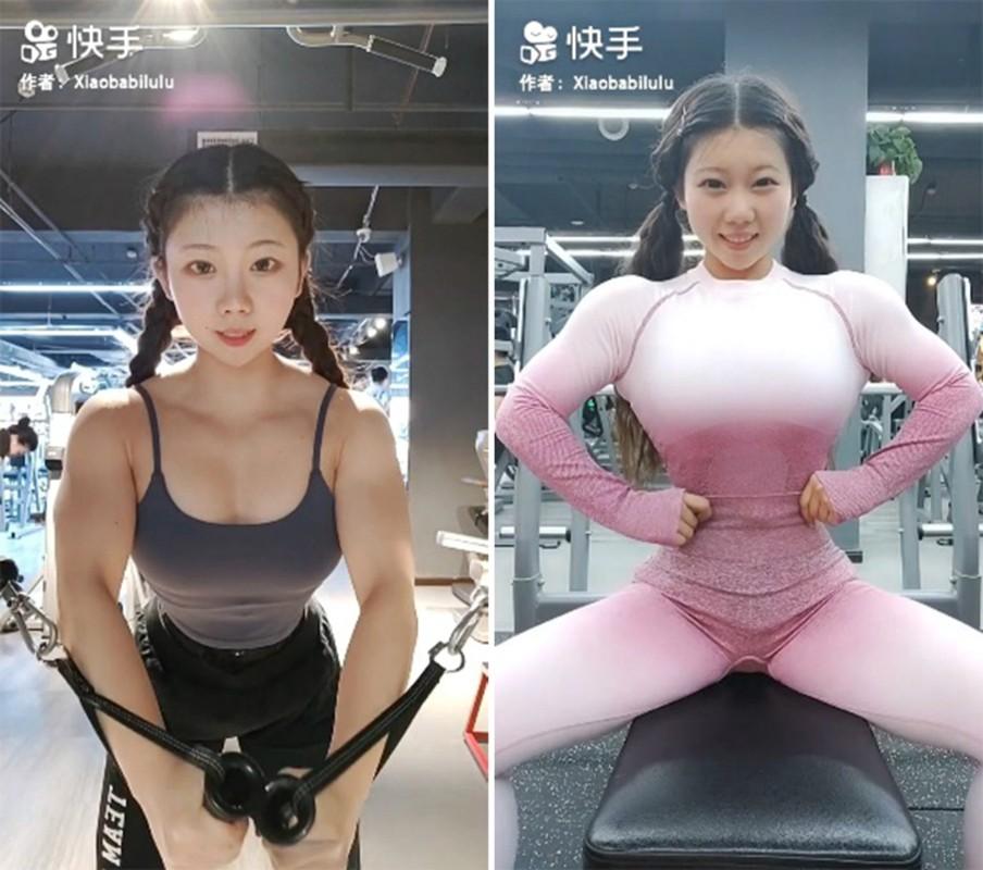 Mat hoc sinh than hinh luc si, hot girl xu Trung noi tieng MXH-Hinh-4