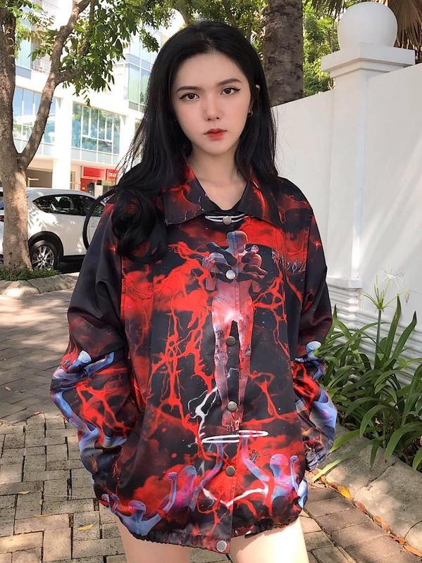 "Hot girl 2K3 ""day thi hoan hao"" voi guong mat ""lanh nhu tien""-Hinh-5"