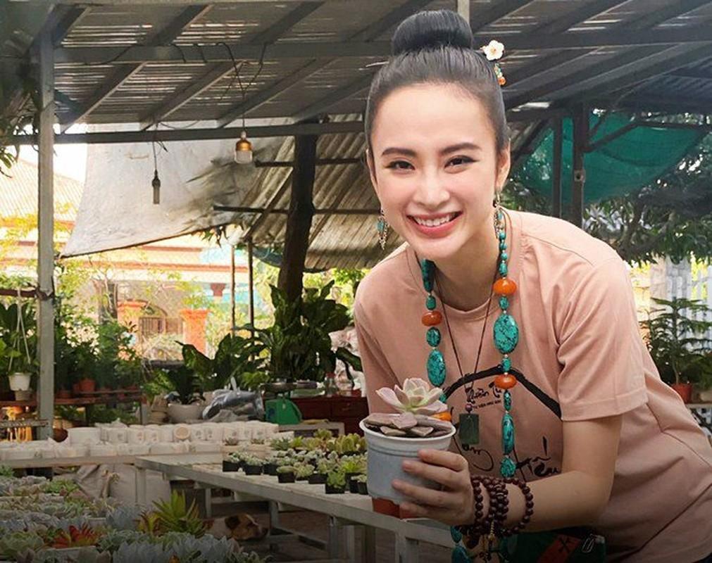 "Sau man o an, hot girl ""Kinh Van Hoa"" khoe nhan sac len huong-Hinh-14"