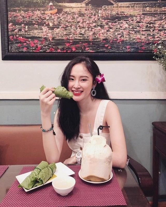 "Sau man o an, hot girl ""Kinh Van Hoa"" khoe nhan sac len huong-Hinh-8"
