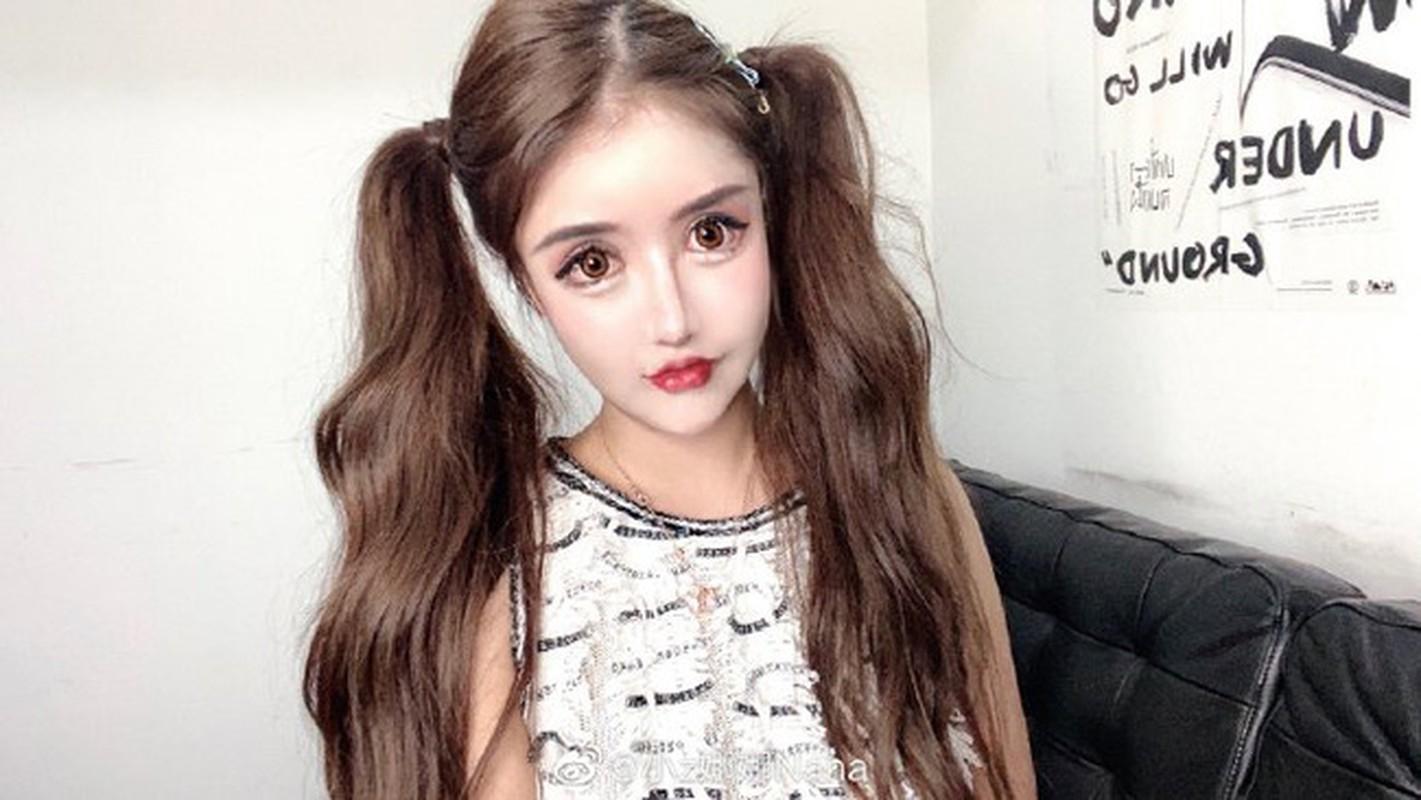 100 lan phau thuat tham my, hot girl xu Trung nhin phat so