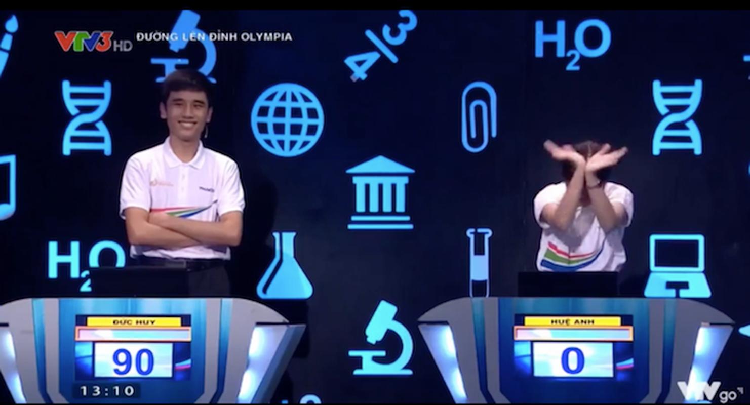 Hanh dong la, dan thi sinh Duong len dinh Olympia gay xon xao MXH-Hinh-6