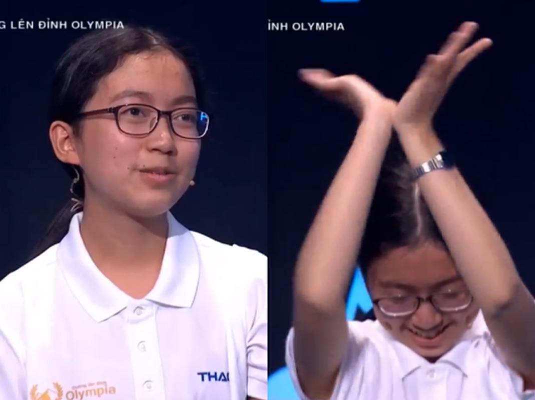 Hanh dong la, dan thi sinh Duong len dinh Olympia gay xon xao MXH-Hinh-7