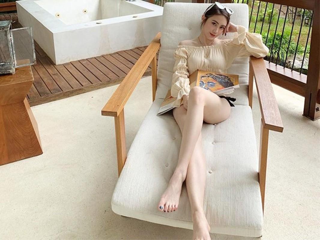 De nhat hot girl Lao khoe mat moc, dan tinh ngam mai khong chan-Hinh-14