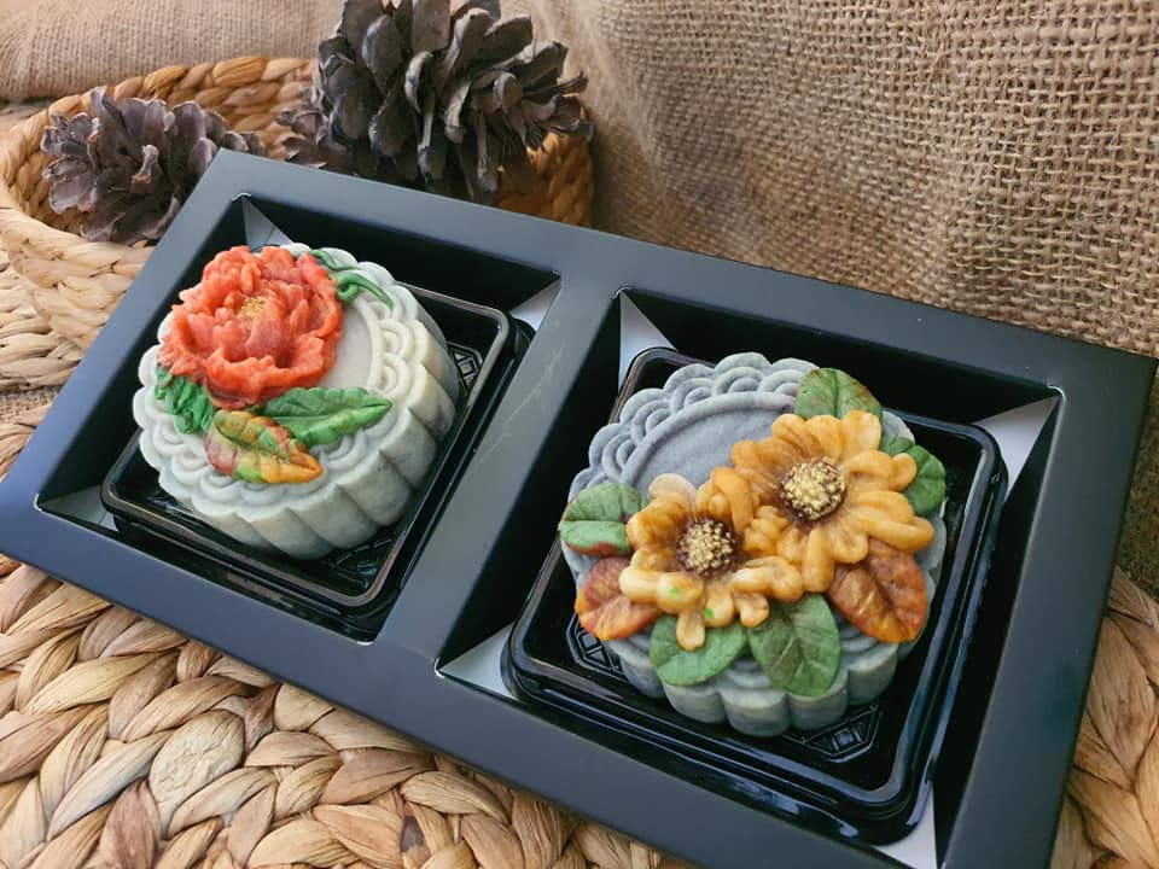 Banh trung thu handmade, hoi chi em kheo tay khac ca hoa van-Hinh-6