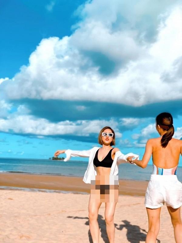 Bi che beo, hot girl Tram Anh dap tra cuc cang bang anh bikini-Hinh-8