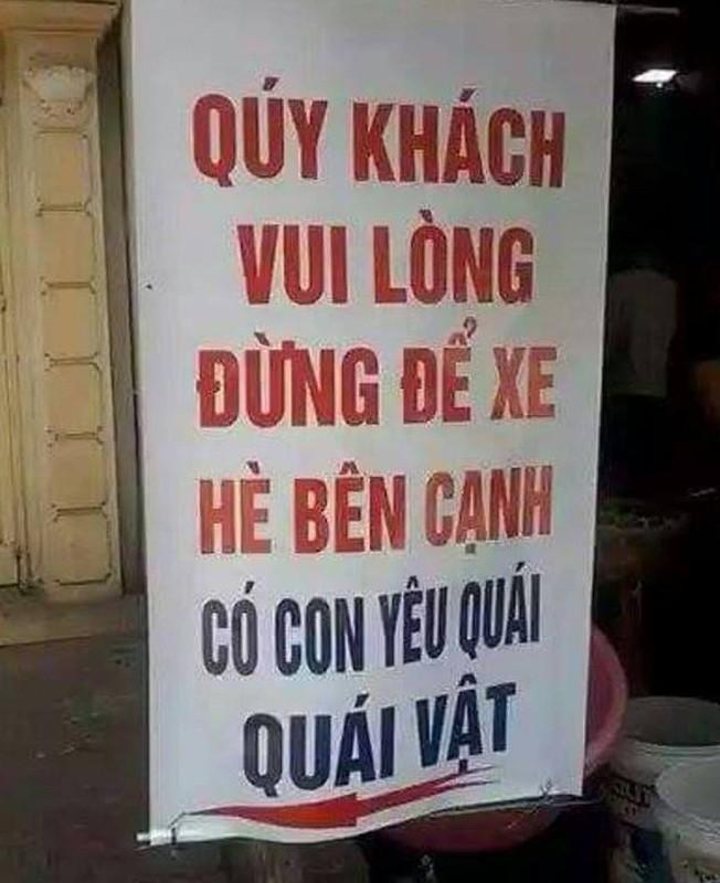 """Han han loi"" voi loat bien bao ba dao ai nhin cung mac cuoi"
