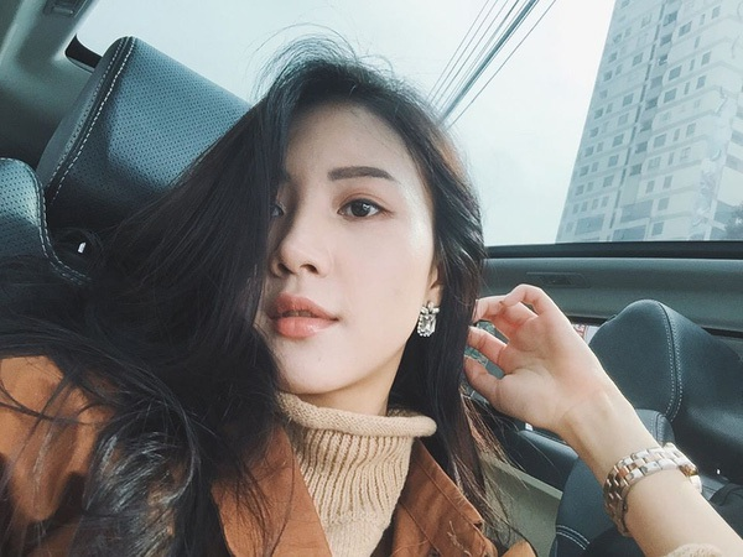 Hot girl Vu Ngoc Cham