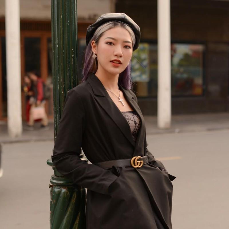 Nu sinh truong My thuat voi phong cach chuan fashionista-Hinh-5