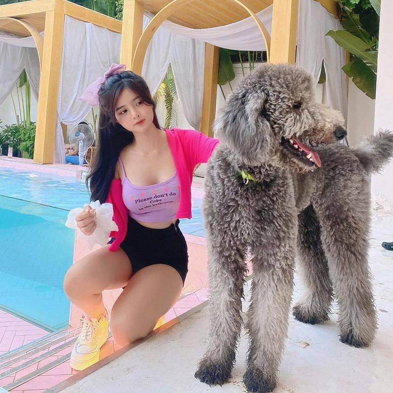 Hot girl Sai thanh gay sot voi nhan sac bup be song-Hinh-2