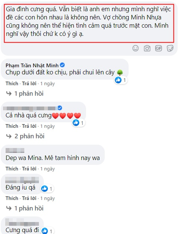 Khoe anh gia dinh, vo chong Minh Nhua gay tranh cai vi dieu nay-Hinh-5