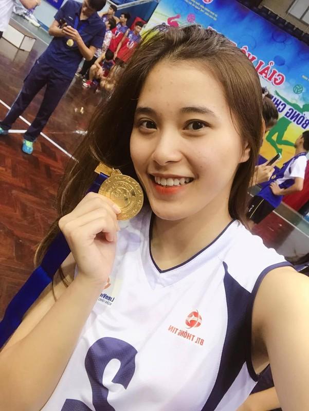 Hot girl bong chuyen Viet Nam dep diu dang tuoi 18-Hinh-2