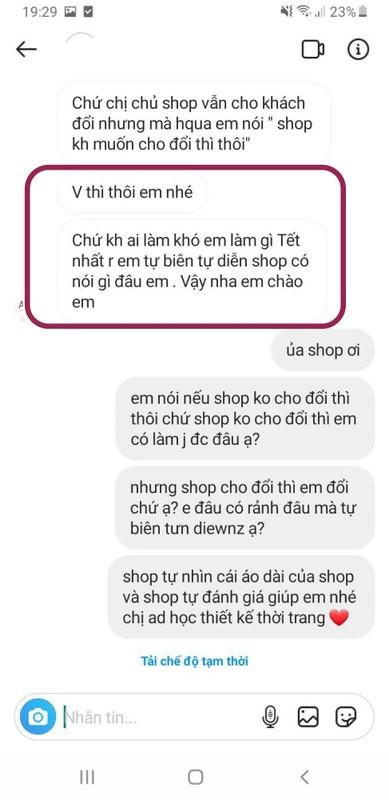 Mua ao dai mac Tet tren mang, co gai nhan ve san pham tham hoa-Hinh-4