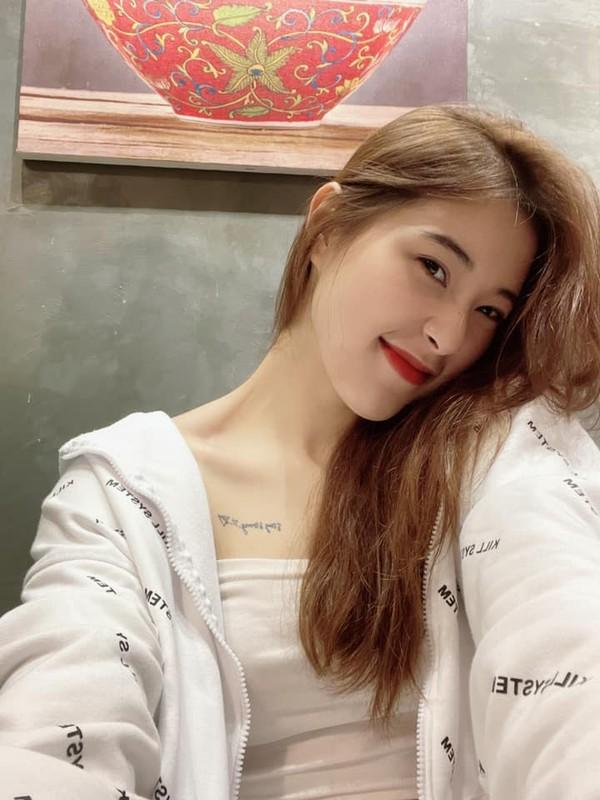 Nhan sac van nguoi me cua Hoa khoi bong chuyen Dang Thu Huyen-Hinh-6