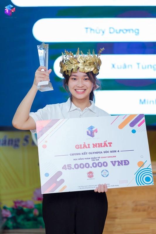 "Nu thi sinh ""chiem song"" Duong len dinh Olympia nho nu cuoi toa nang-Hinh-5"
