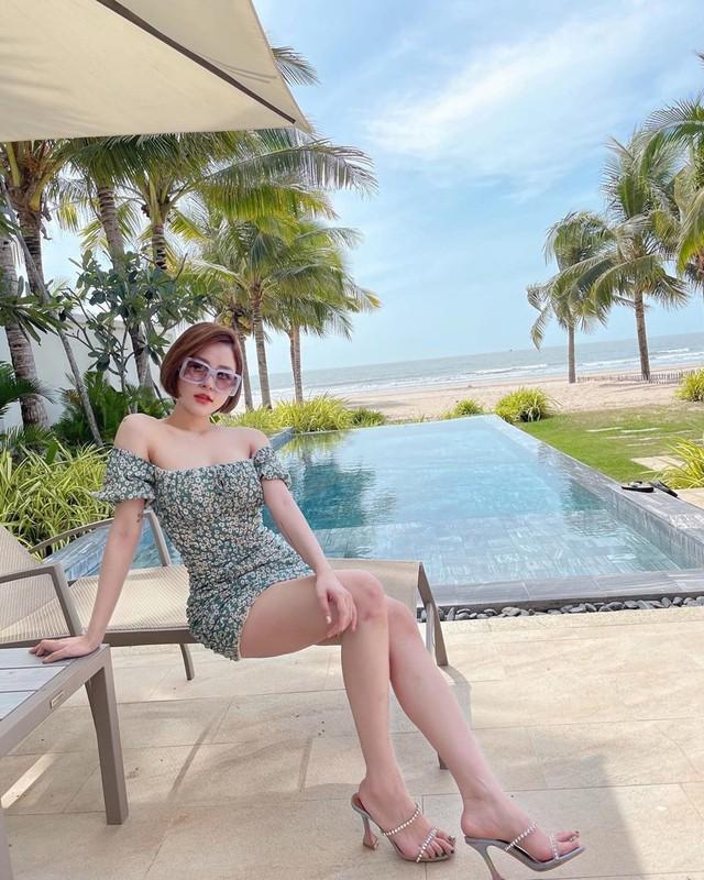 Dang anh quyen ru, hot girl Tram Anh bi fan hoi chuyen tinh cam-Hinh-8